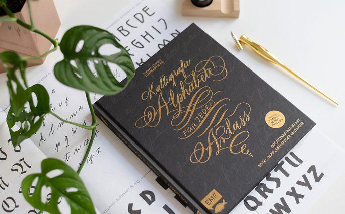 Kalligrafie-Buch von Tintenfuchs | we love handmade