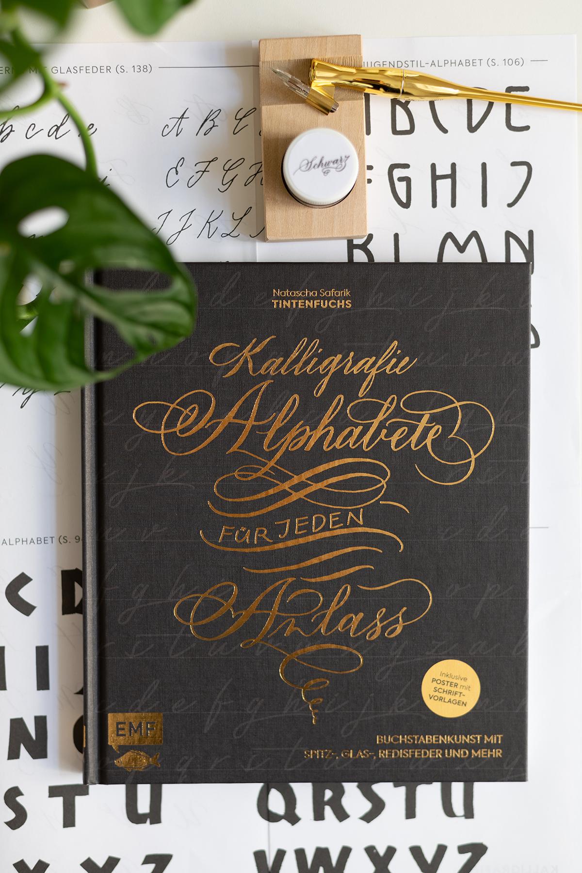 Kalligraphie-Alphabete: Buchtipp | we love handmade