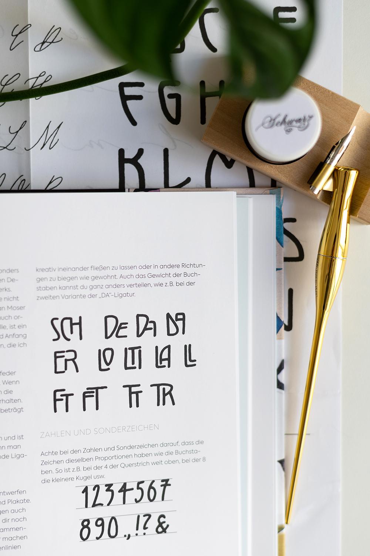 Kalligraphie-Alphabete Tintenfuchs | we love handmade