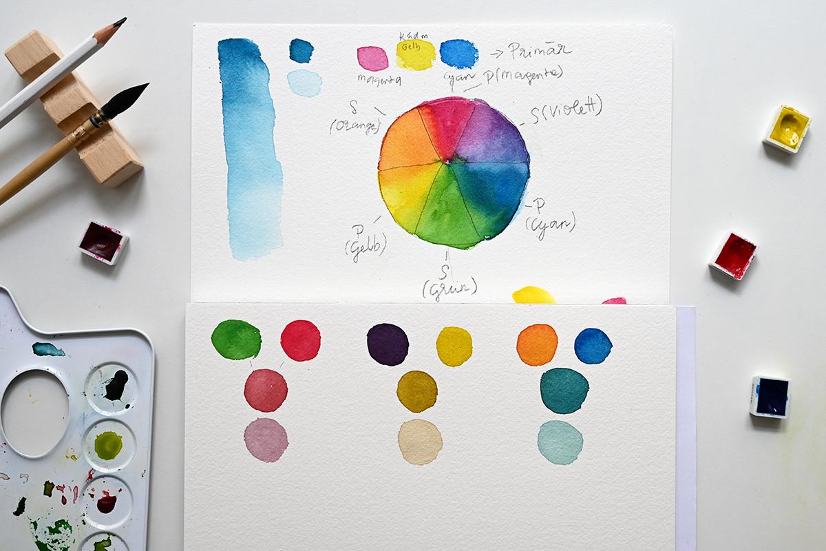 Komplementärfarben | we love handmade