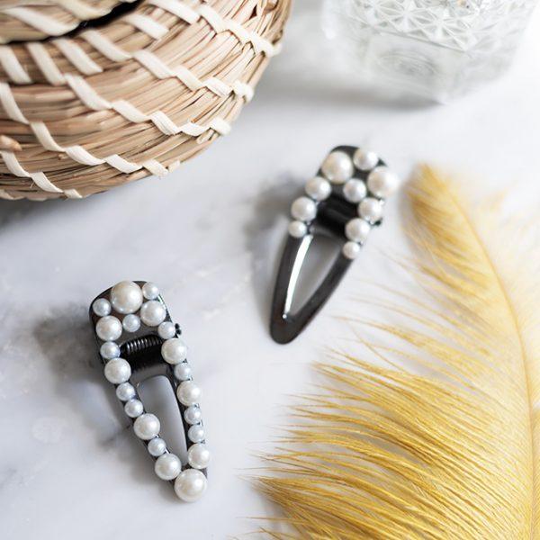 Perlen-Haarspange: DIY | we love handmade