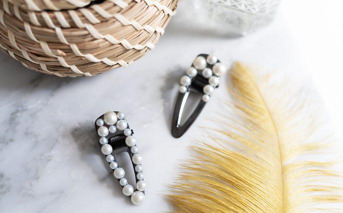 Perlen-Haarspange: DIY   we love handmade