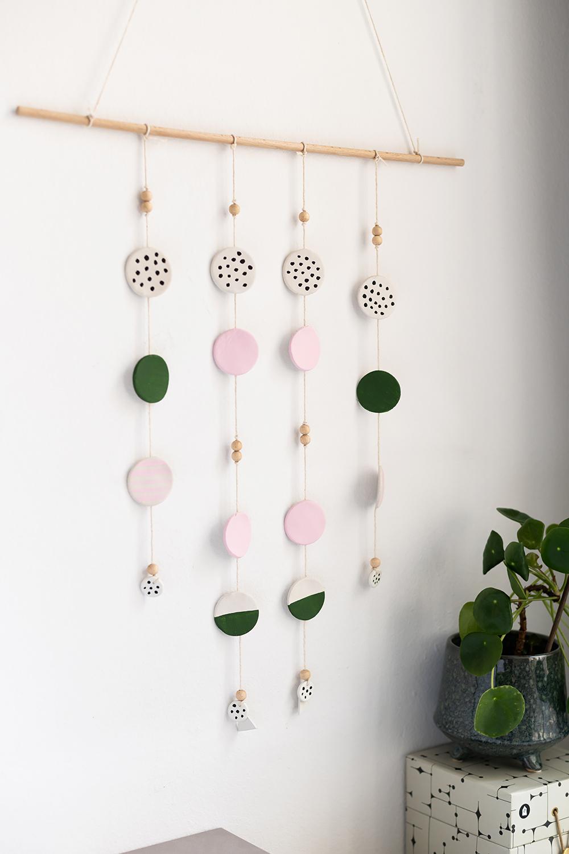 Wanddeko aus Clay: DIY | we love handmade
