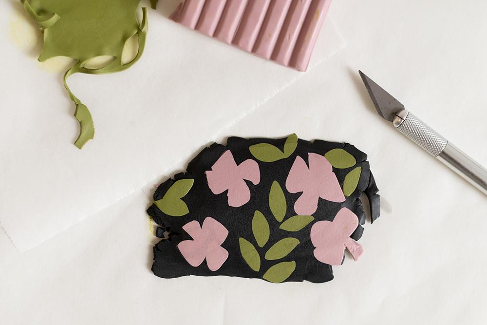Blumenmuster mit Fimo: DIY | we love handmade