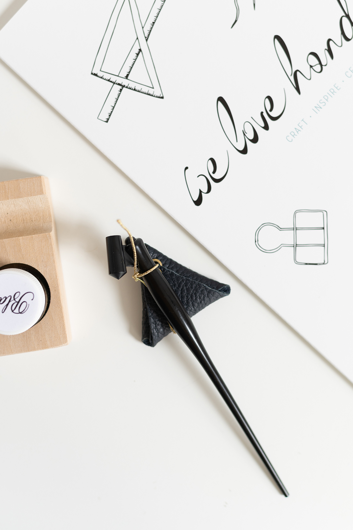 Feder-Tasche zur Aufbewahrung: DIY | we love handmade