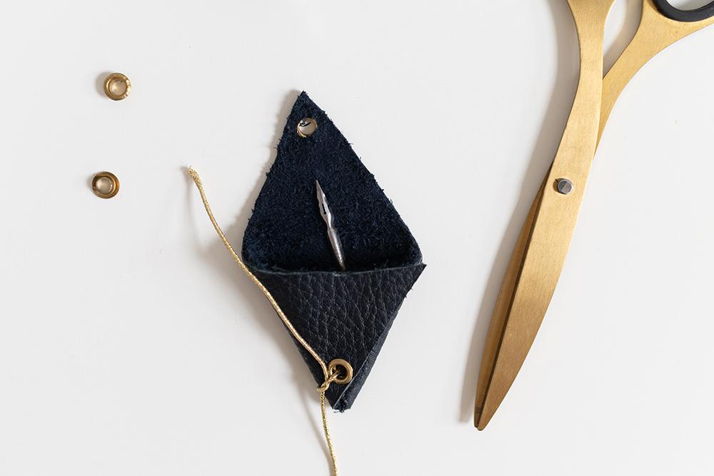 Federtasche: Aufbewahrungs-DIY | we love handmade