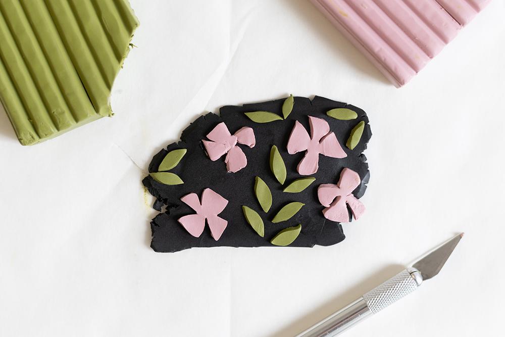 Fimo-Brosche selbermachen | we love handmade