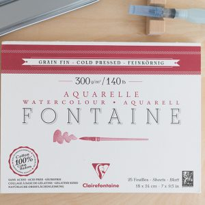 Fontaine Aquarellpapier | we love handmade