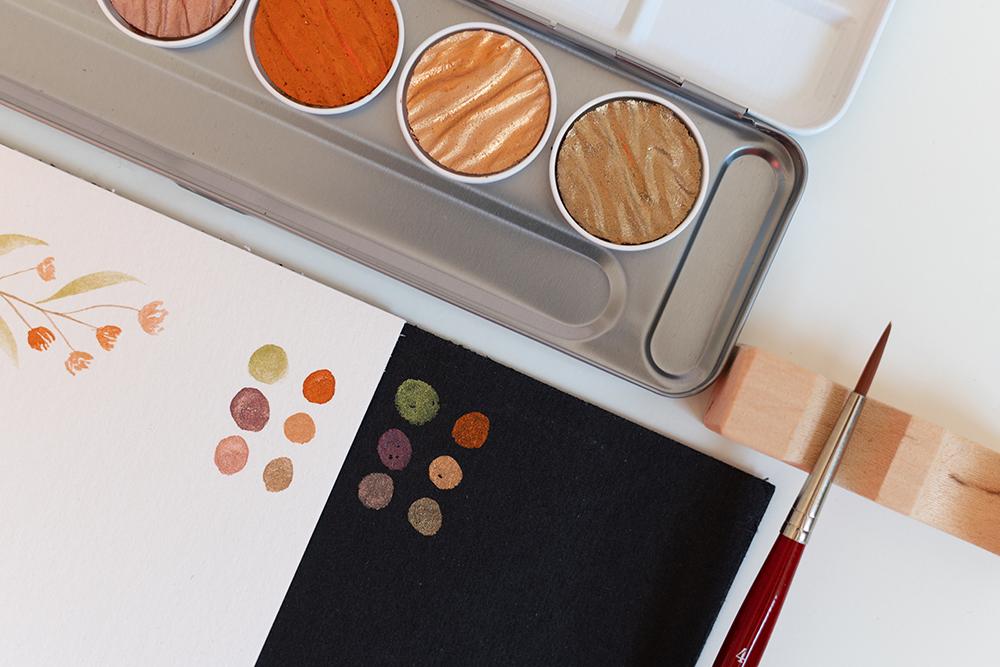 """Watercolor Florals""-Farben | we love handmade"