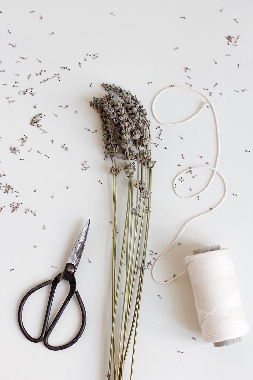 DIY: Lavendel Räucherbündel | we love handmade