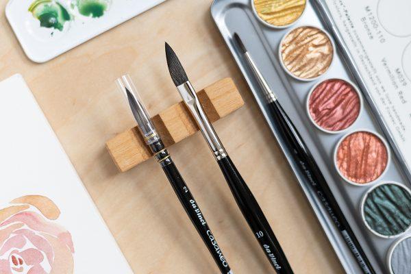 Da Vinci Aquarellpinsel aus der Casaneo-Serie (Vegan) | we love handmade