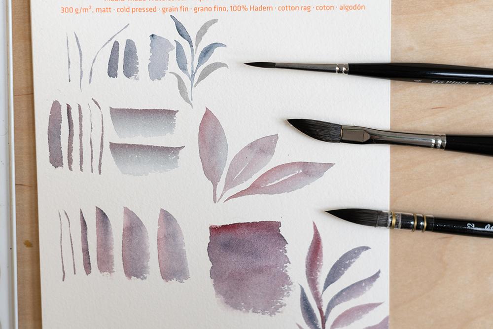 Da Vinci: Aquarellpinsel | we love handmade