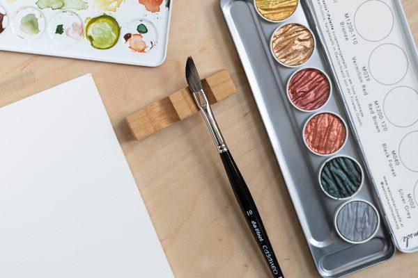 Da Vinci Casaneo Schwertpinsel in Größe 10 | we love handmade