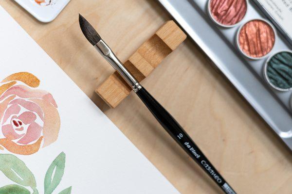Da Vinci Casaneo Schwertpinsel für Aquarellmalerei | we love handmade