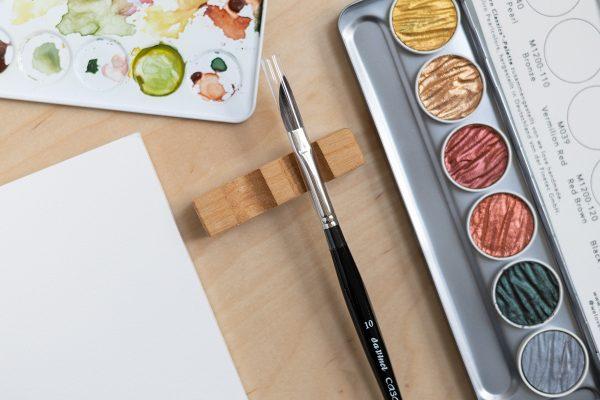 Da Vinci Casaneo: Schwertpinsel – Aquarellpinsel |we love handmade