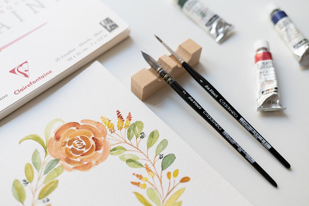 Materialkunde: Aquarellmalerei | we love handmade