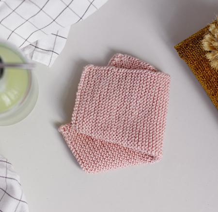DIY: Abwaschtuch stricken