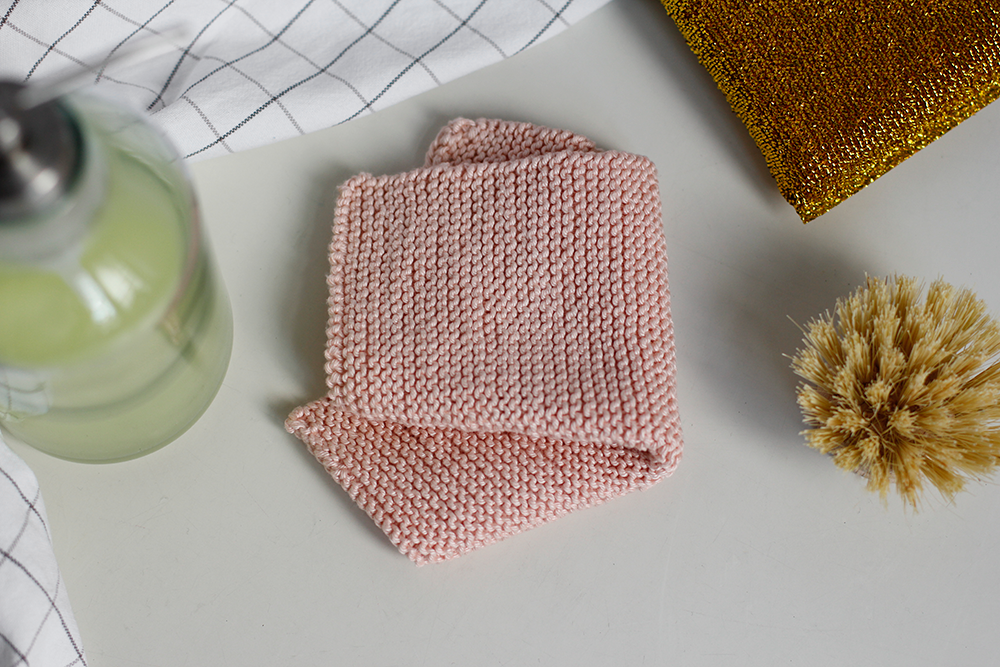 DIY: Abwaschtuch stricken | we love handmade