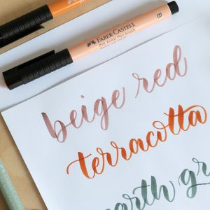Brush Pen von Faber-Castell | we love handmade