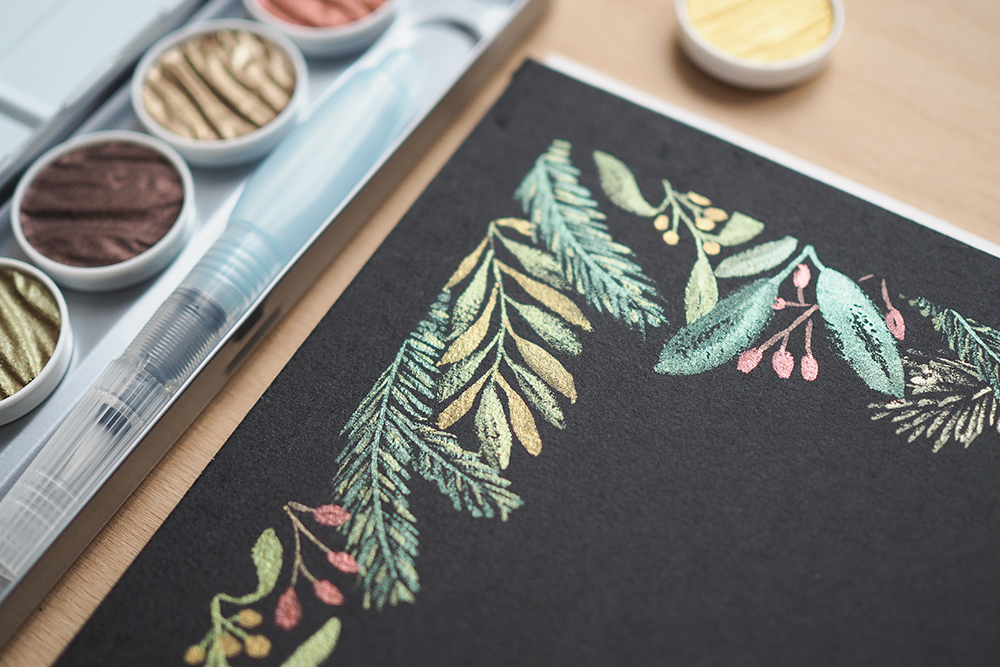 Greenery-Palette mit Coliro Pearlcolors | we love handmade
