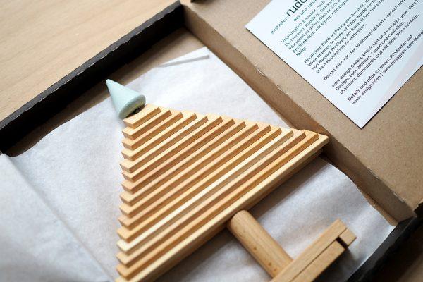 Nachhaltiger Weihnachtsbaum von Design.Wien | we love handmade