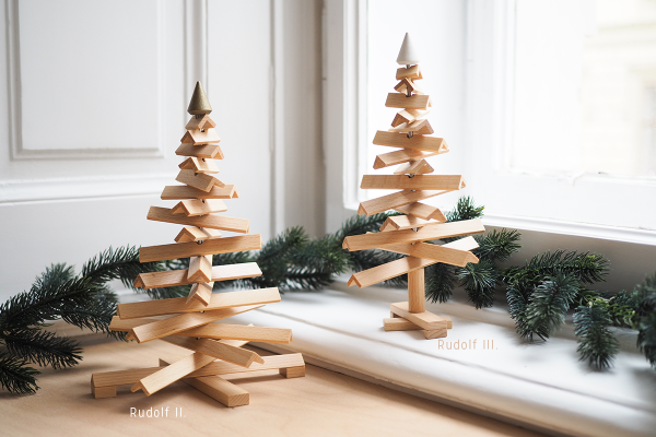 Rudolf: Weihnachtsbaum von Design.Wien | we love handmade