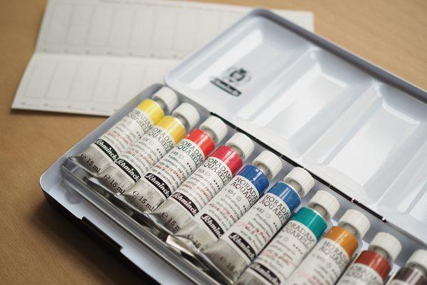 Schmincke: Tuben-Set Horadam Aquarellfarben | we love handmade