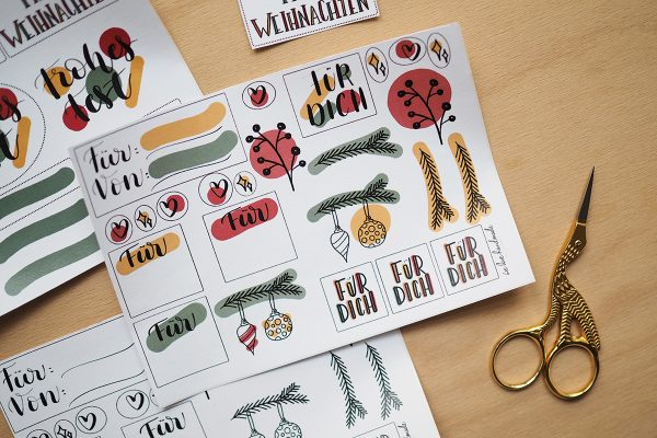 Stickerset: Weihnachten | we love handmade