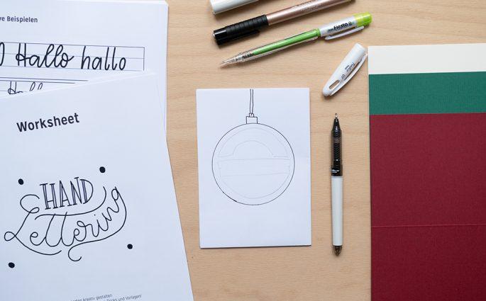 Weihnachtskarten gestalten: Craft Kit | we love handmade