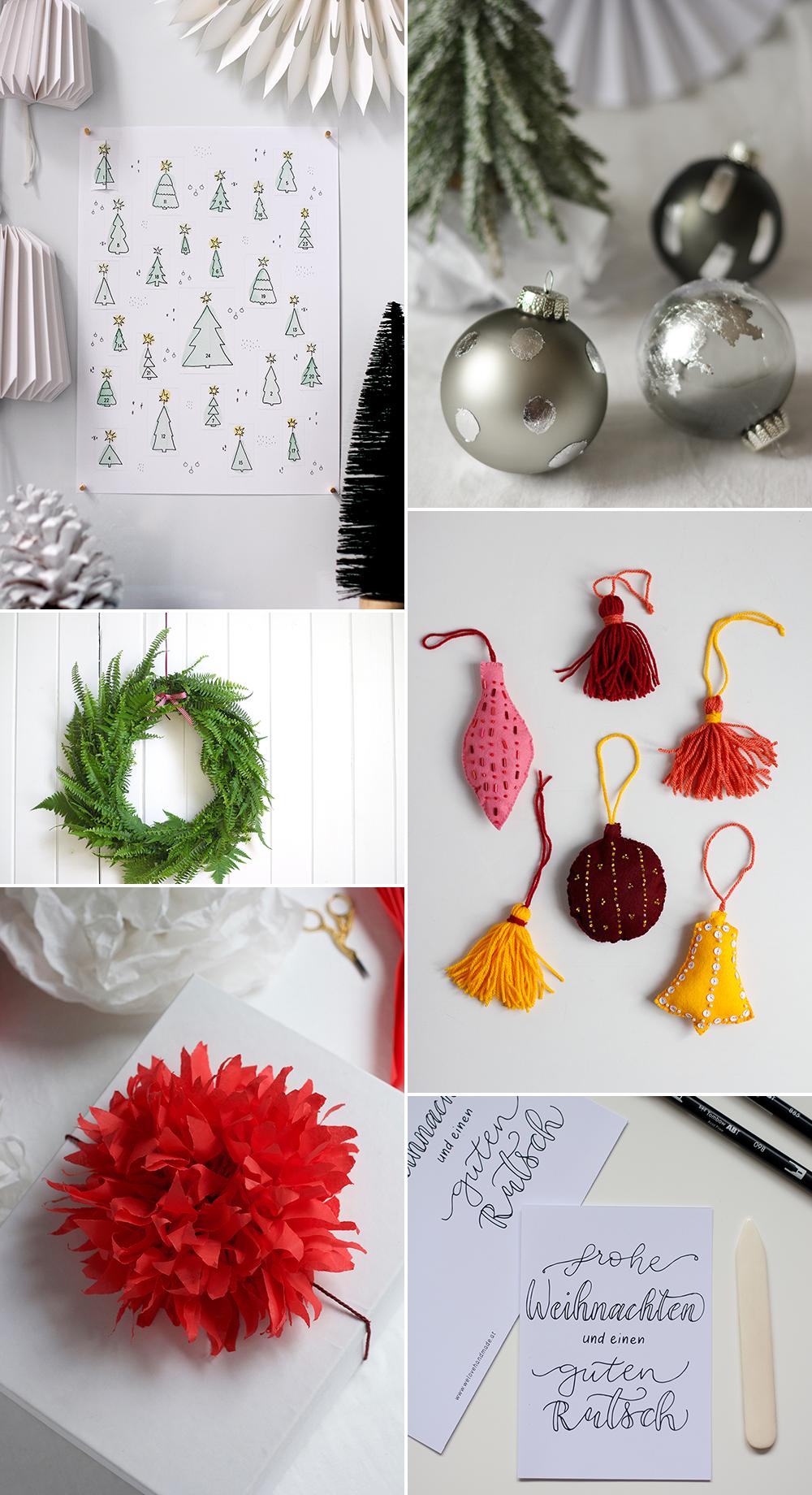 Unsere DIYs für den Advent   we love handmade