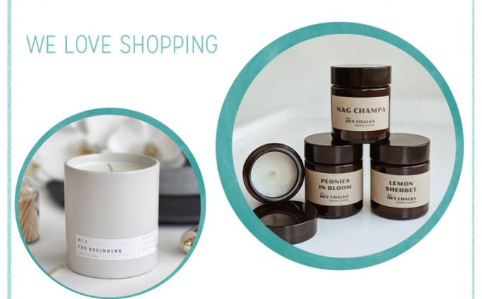 we love Shopping: Duftkerzen | we love handmade