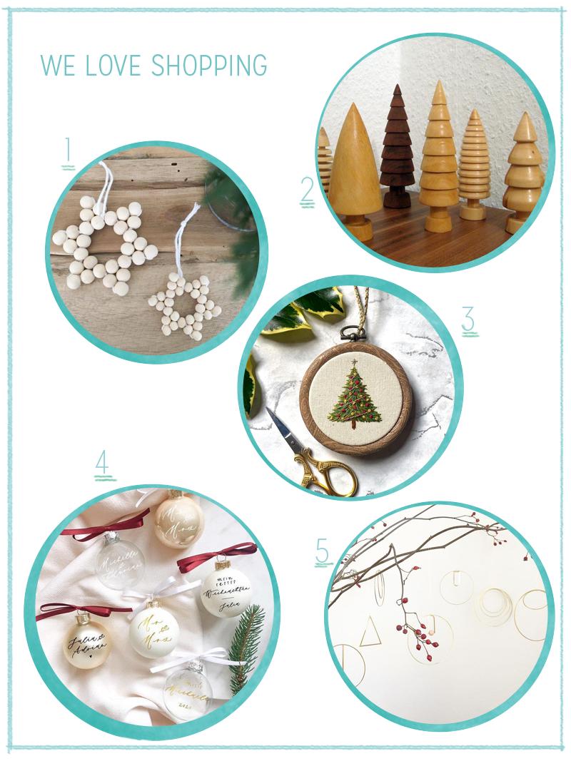 we love Shopping: Weihnachtsdekoration   we love handmade
