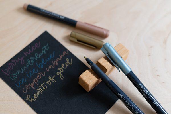 Faber-Castell Metallics | we love handmade