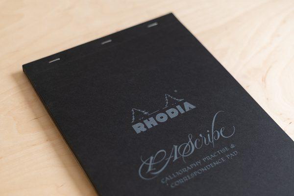 Rhodia: PAScripe Schreibblock schwarz | we love handmade
