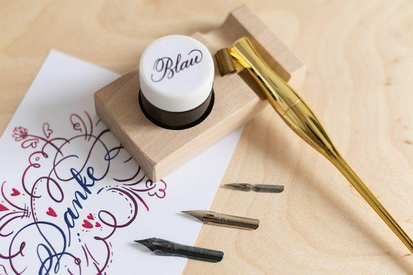 Spitzfeder-Kalligraphie: Federn-Set   we love handmade