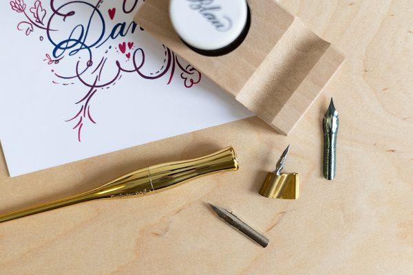 Spitzfeder-Set für Kalligraphie   we love handmade