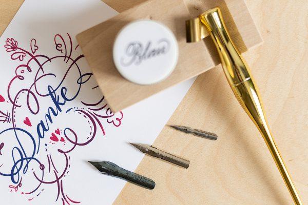 Spitzfedernset   we love handmade