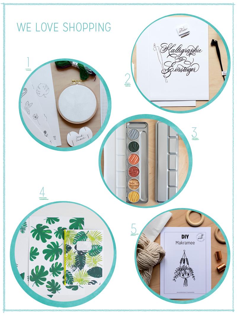 Werde kreativ mit den we love handmade Produkten | we love handmade