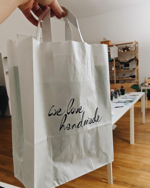 we love handmade: Webshop Abholung