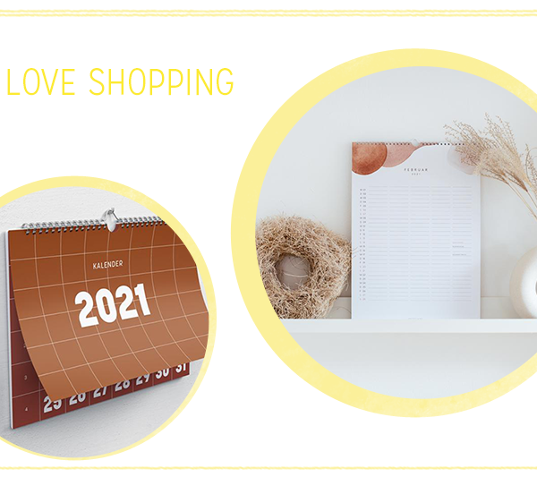 we love Shopping: Wandkalender 2021 | we love handmade