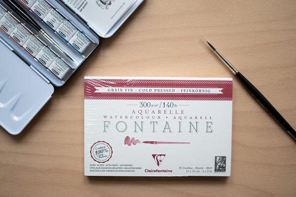Aquarellpapier Postkartengröße kaufen   we love handmade