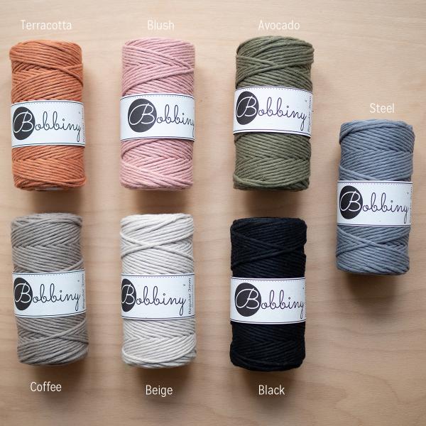 Bobbiny Farbauswahl | we love handmade Webshop