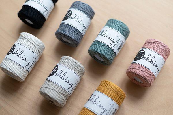 Bobbiny: Makramee Baby-Kordeln Farbauswahl | we love handmade