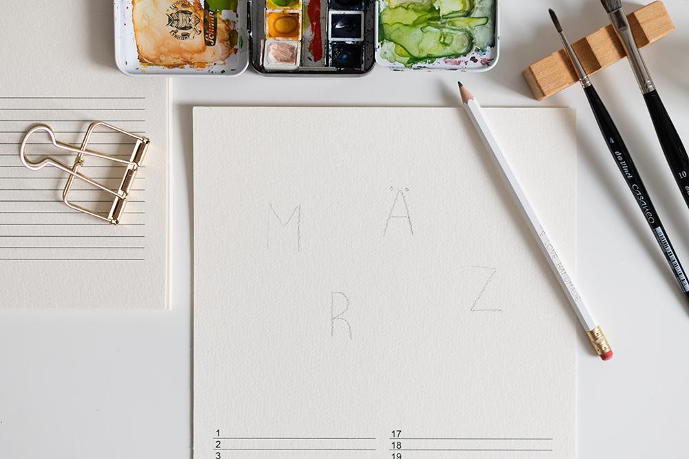 Wandkalender DIY-Inspiration   we love handmade