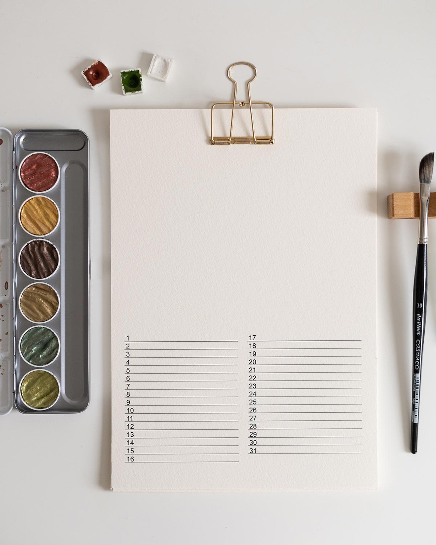 Wandkalender kreativ gestalten   we love handmade