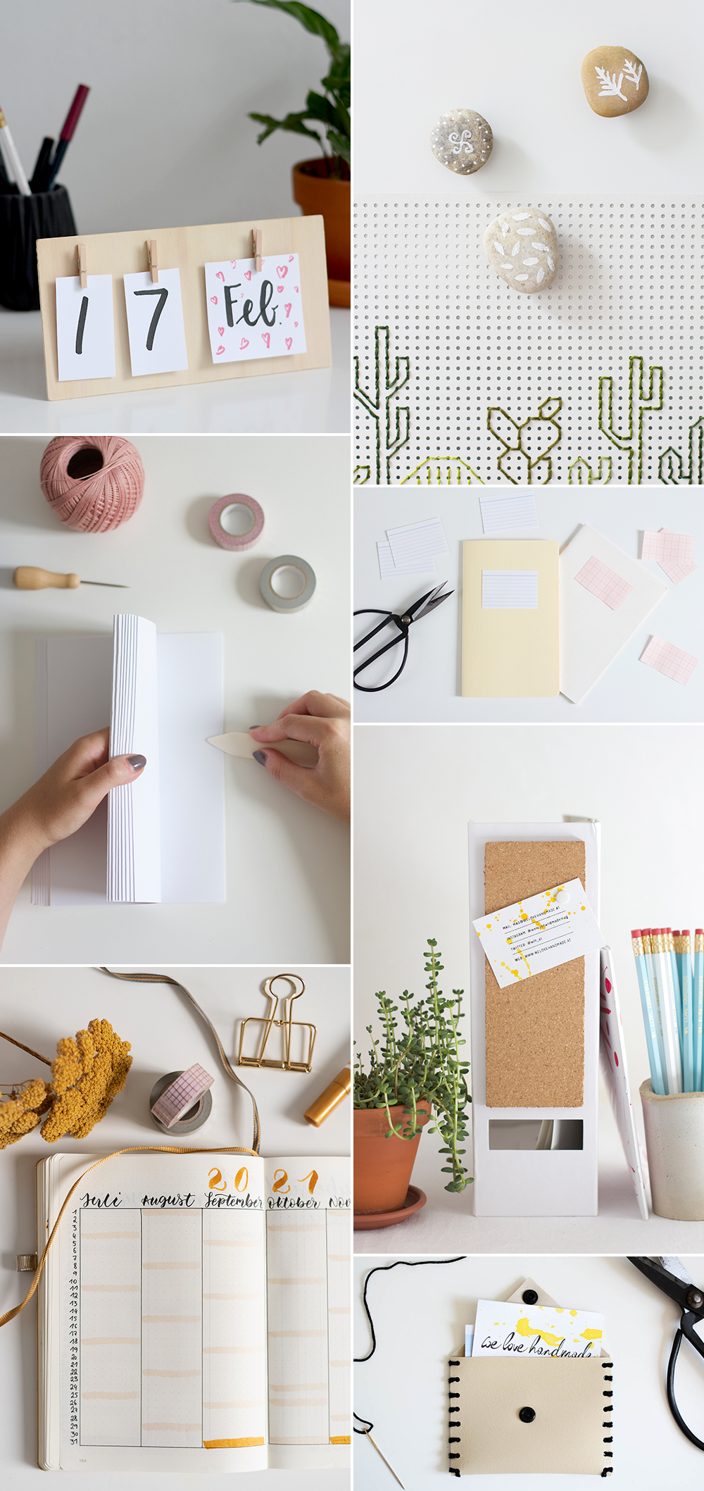 DIY-Ideen fürs Homeoffice | we love handmade
