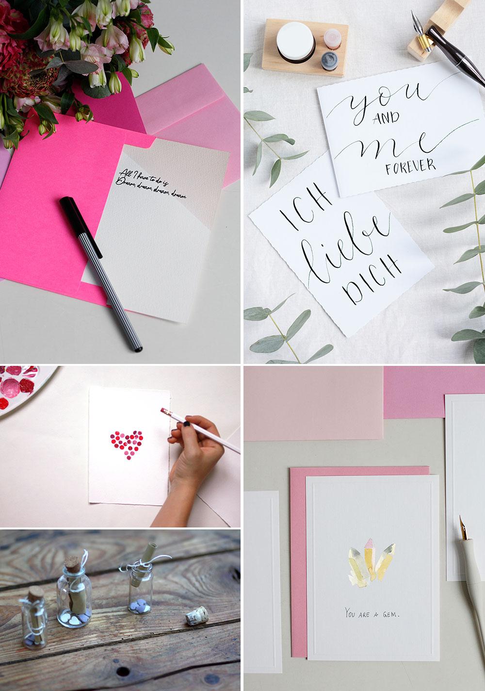 Inspiration: Freebie Valentinstagskarten verschicken | we love handmade