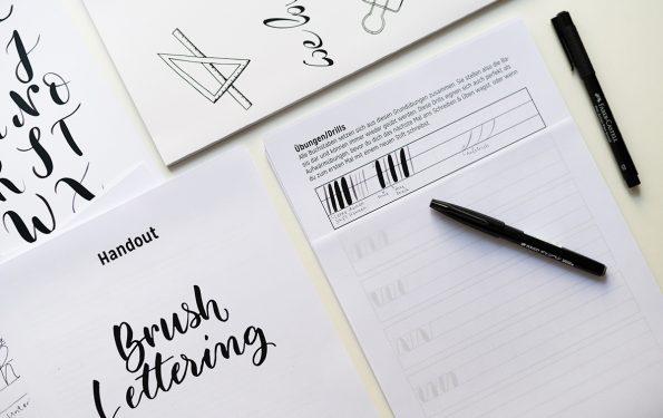 Brush Lettering Craft Kit | we love handmade
