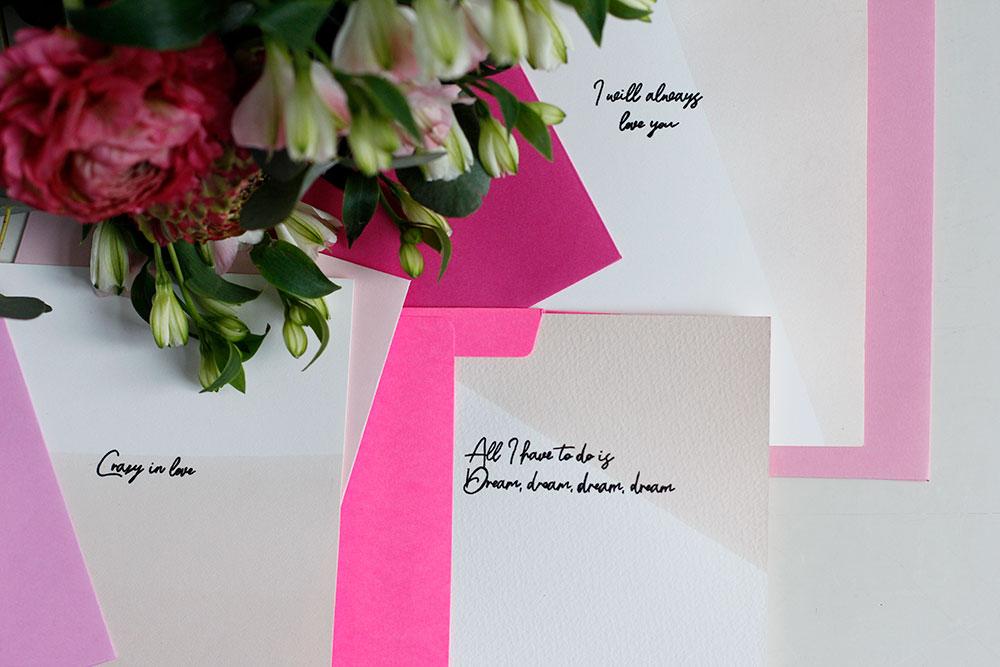 Inspiration: Valentinstag Karten Freebie | we love handmade