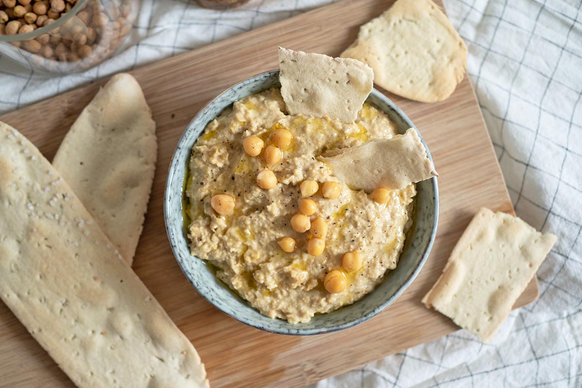 Zitronen-Hummus: Rezept   we love handmade